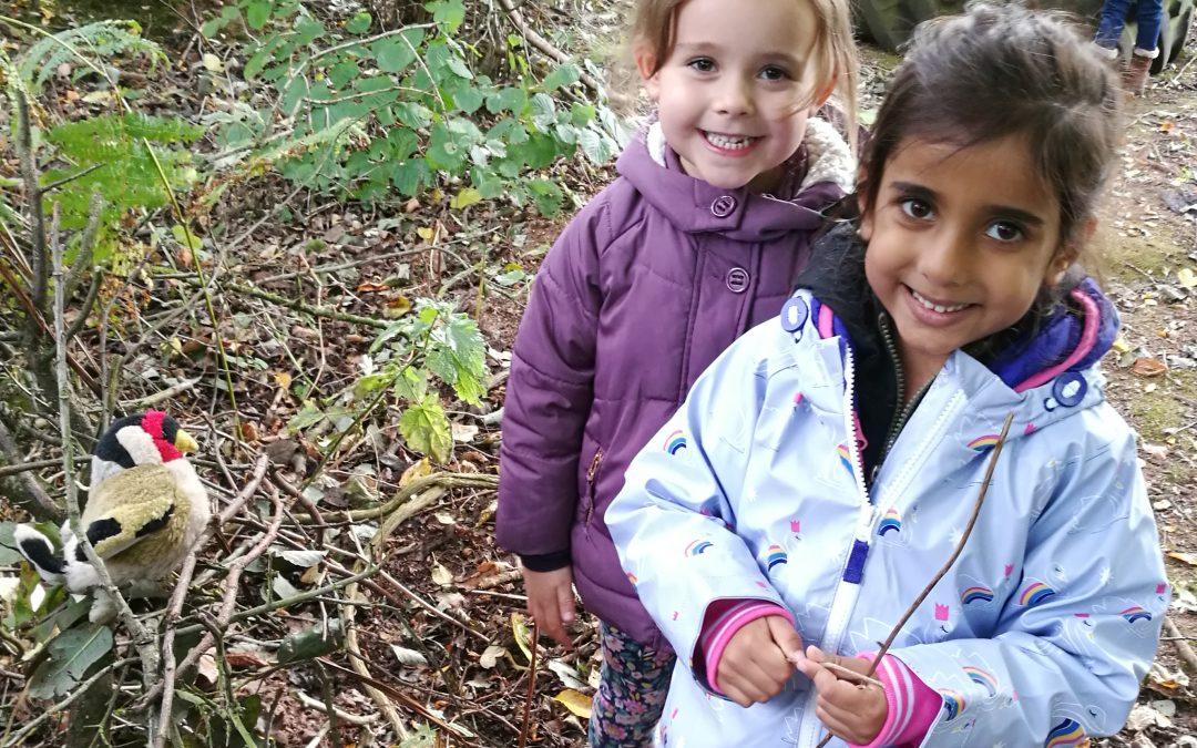 RECEPTION VISIT – FOREST SCHOOL 'AUTUMN TERM'