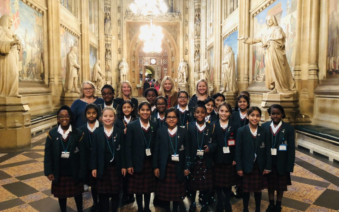 Year Five visit to the Houses of Parliament